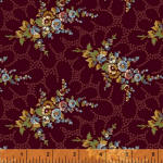 Aubergine 100% cotton fabrics