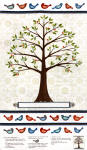 Family Tree 100% cotton fabric