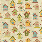 Garden Days 100% cotton fabric Collection