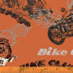 Retro Riders 100% cotton fabric Collection