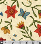Simple Stitches 100% cotton fabric Collection