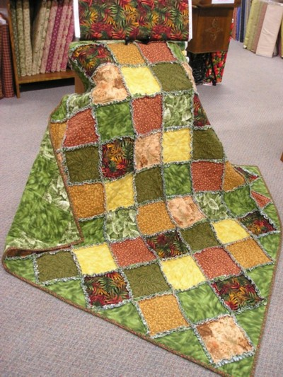 A Simple Rag Quilt